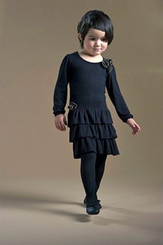 Honeypiekids | Sierra Julian Brasi Black Dress
