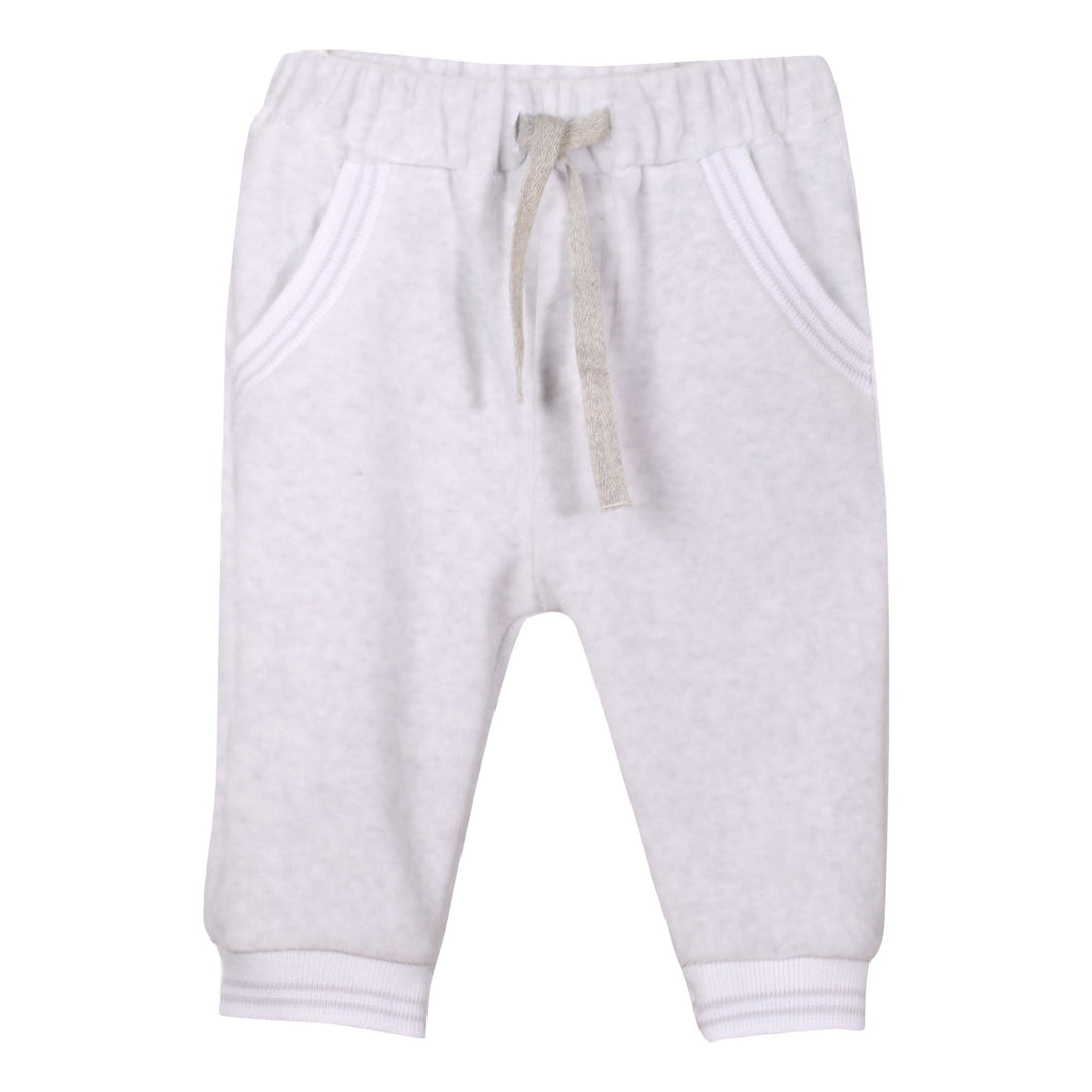 Patachou Baby Boys Knit Pants in Grey | Honeypiekids