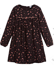 Load image into Gallery viewer, 3Pommes Black & Rose Gold Viscose Dress