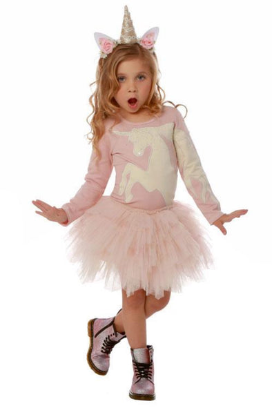 Honeypiekids | Ooh La La Couture Pink Unicorn Dress
