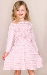 Halabaloo Pink Jersey Dress - Honeypiekids.com