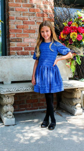 Honeypiekids | DAVID CHARLES ROYAL SPARKLE DRESS