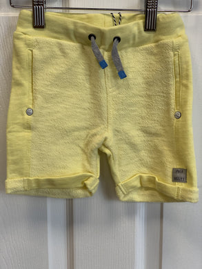 3Pommes Boys City Rock Yellow Cotton Shorts