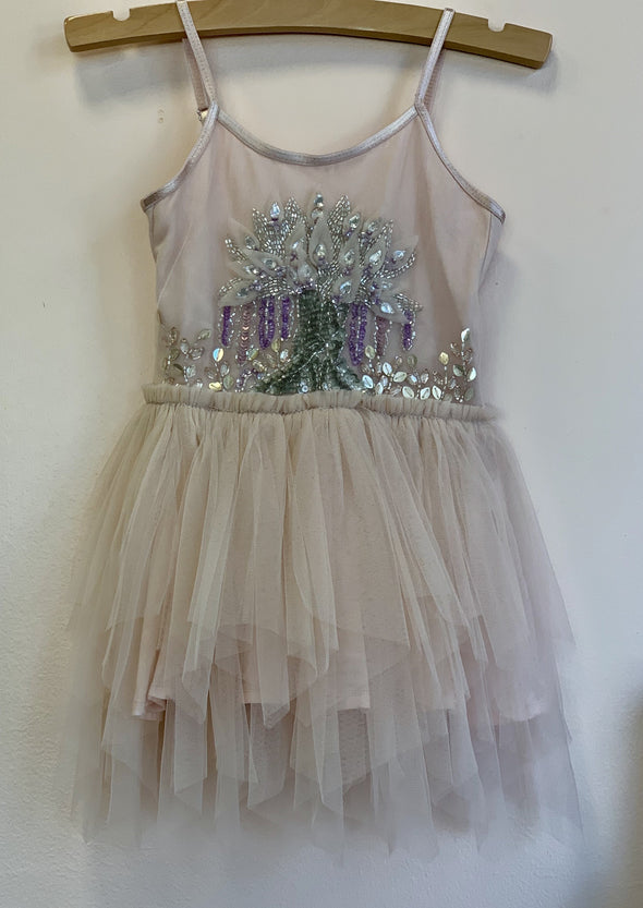 Honeypiekids | Ooh La La Couture Peach Wishing Tree Dress