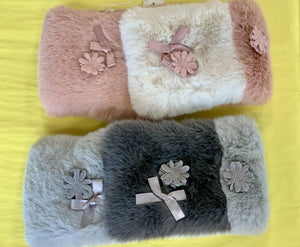 MaeLi Rose Faux Fur Collars w/ magnetic closure | Honeypiekids