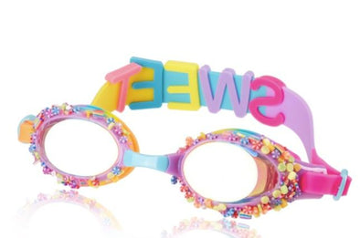 Honeypiekids | Bling 2o Penny Candy Swim Goggles In Peppermint Purple