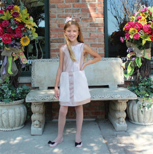 Imoga Madelyn Dress in Powder - Honeypiekids.com