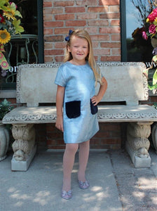 Imoga Natasha Dress in Frost | Honeypiekids