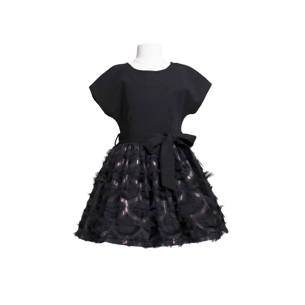 Imoga Tamara Dress in Black - Honeypiekids.com