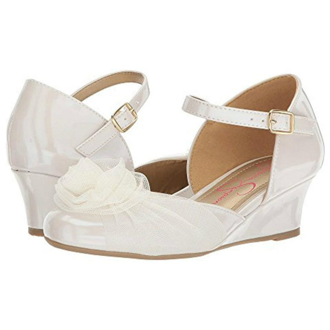 Jessica Simpson Delphine Shoes in Cream | Honeypiekids