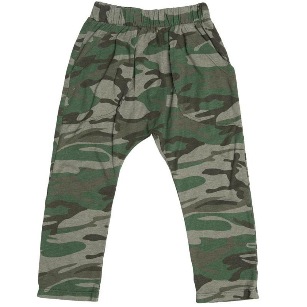 Joah Love Boys Camo Printed Pants | Honeypiekids