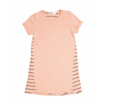 Joah Love Girls Striped Modern Dress - Honeypiekids.com