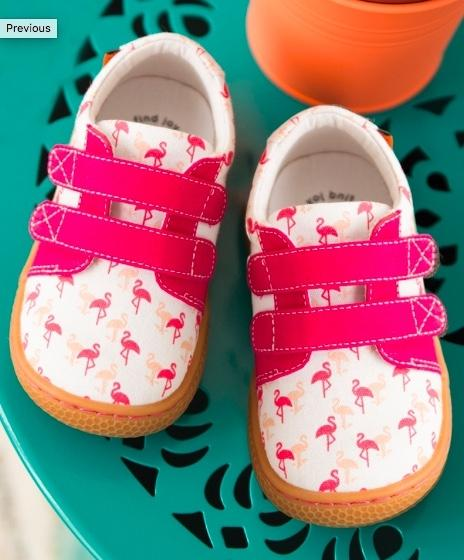 Honeypiekids | Livie & Luca Girls Flamingo Peppy Sunprint shoes