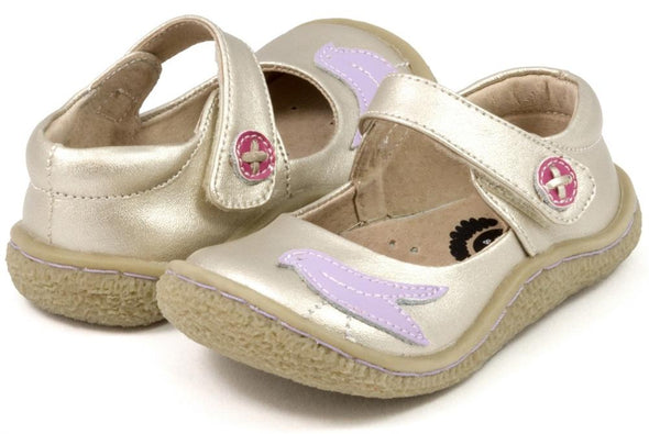 Honeypiekids | Livie & Luca Pio Pio Shoes in Gold