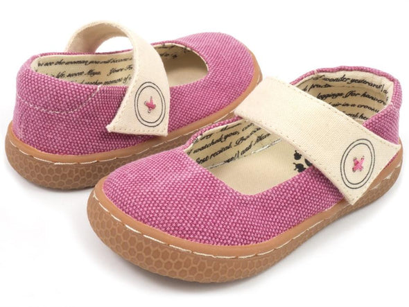Honeypiekids | Livie & Luca Dark Pink Jean Carta II Shoes (limited edition)