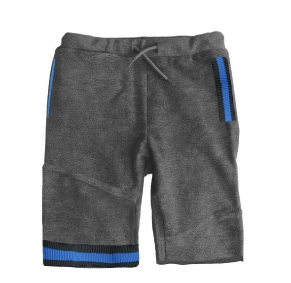 Honeypiekids | Mini Shatsu Boys Charcoal Sweat Shorts