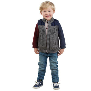 MUDPIE BOYS SWEATER AND NYLON VEST | Honeypiekids