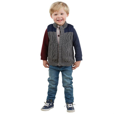 Honeypiekids | MUDPIE BOYS SWEATER AND NYLON VEST