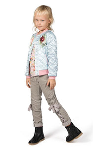Paper Wings Rosie Cats Quilted Bomber - Honeypiekids.com