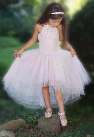 Honeypiekids | Ooh La La Couture Powder Pink Kylee High Low Dress