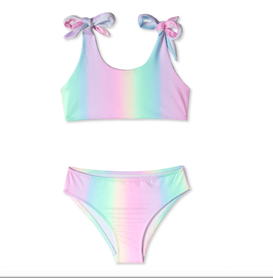 Stella Cove Unicorn Ombre Two Piece Swimsuit - Honeypiekids.com
