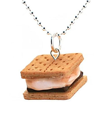 Tiny Hands Scented Smores Necklace