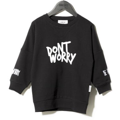 Someday Soon Little Boys Bobby Don't Worry Crewneck Shirt | Honeypiekids