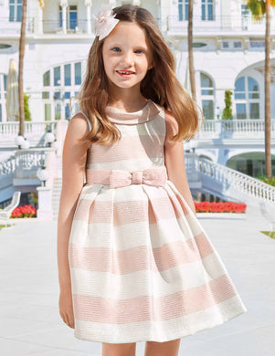 Abel & Lula Girls Striped Dress - Honeypiekids
