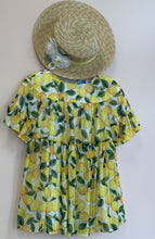 Load image into Gallery viewer, Abel & Lula Girls Yellow Ribbon Canotier Flowers Hat | Honeypiekids