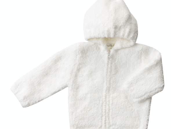 Honeypiekids | Angel Dear Chenille Hooded Zip Up Jacket- Multi Color Choices
