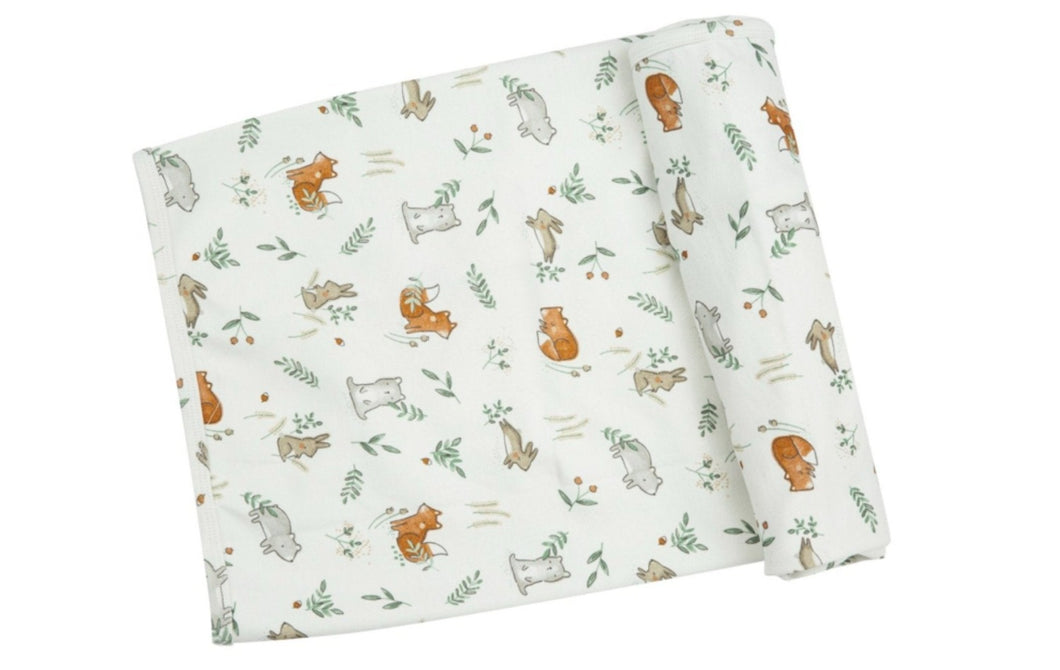 honeypiekids | Angel Dear Infant Delicate Woodland Bamboo Blanket
