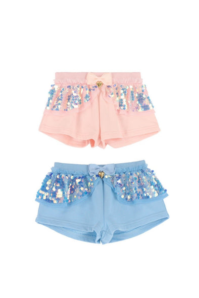 Honeypiekids | Angel's Face Girls Lindsey Shorts In 2 Color Choices
