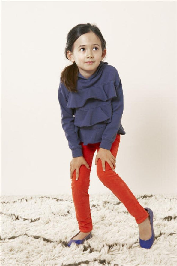 Honeypiekids | Anthem of the Ants Ruffle Hoodie Sweatshirt