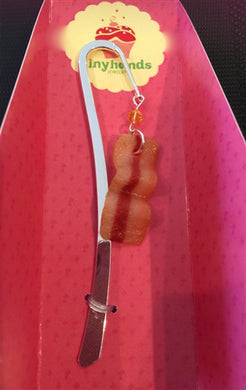 Tiny Hands Scented Bacon Bookmark