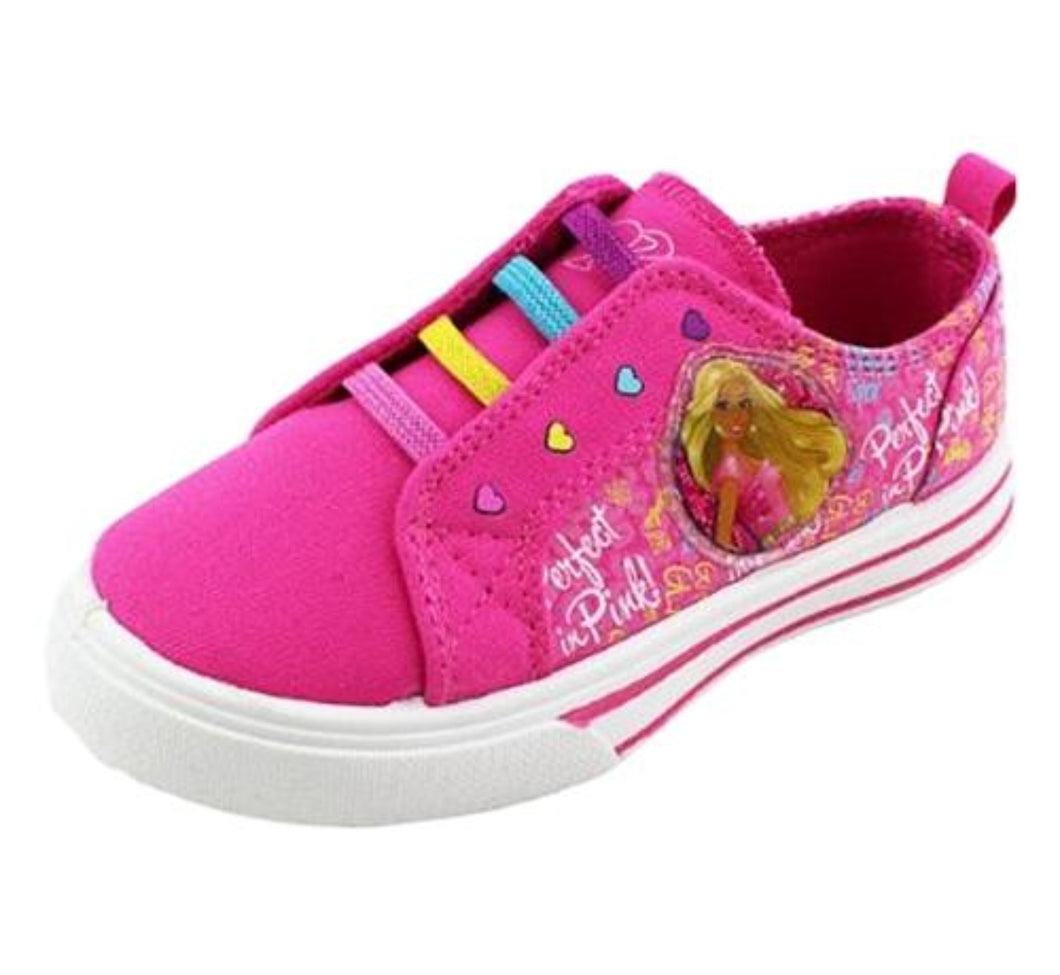 Barbie Slip on Sneakers - Honeypiekids