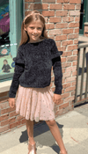 Honeypiekids | 3Pommes Girls Old Pink Tulle Skirt