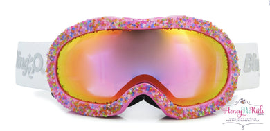 honeypiekids | Bling 2o Girls Swirls of Purple Ski and Snow Mask.