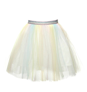 Honeypiekids | Doe a Dear Yellow, Pink and Blue Ombre Tulle Tutu Skirt