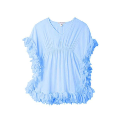 Stella Cove Blue Poncho Coverup - Honeypiekids.com