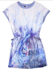 Load image into Gallery viewer, 3Pommes Girls Blue Sea Life Print Dress