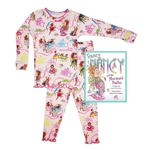 Honeypiekids | Books to Bed Fancy Nancy and the Mermaid Pajamas and Book