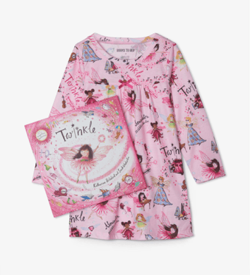 honeypiekids | Books to Bed Twinkle Nightgown and Book Set.