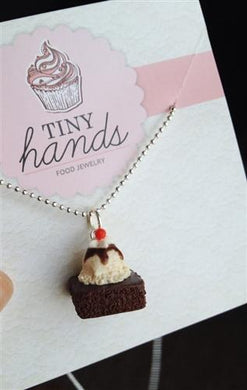 Tiny Hands Scented Brownie Sunday Necklace