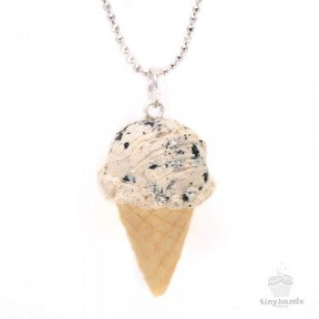 Tiny Hands Scented Cookies and Cream Ice Cream Necklace