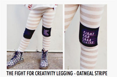 Honeypiekids | Neve/Hawk Fight for Creativity Leggings