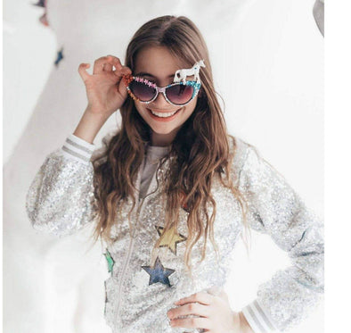 Honeypiekids | Crystal Cat Eye Unicorn Sunglasses