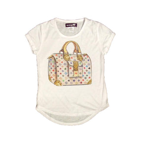 Sparkle by Stoopher Designer Purse Shirt