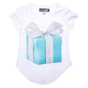 Sparkle by Stoopher Crystal Blue Box Shirt