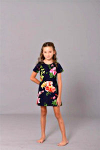 Dimity Bourke Floral Printed Dress - Honeypiekids