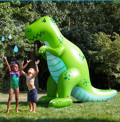 honeypiekids | Giant Inflatable Dinosaur Yard Sprinkler